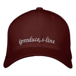 iproduce, s-line..sports cap embroidered baseball cap