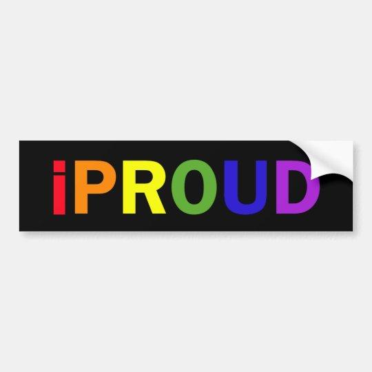 iProud Bumper Sticker