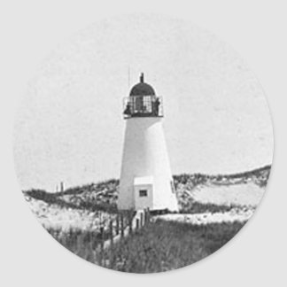 Ipswich Range Lighthouse 2 Round Sticker