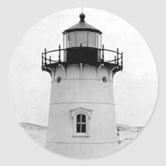 Ipswich Range Lighthouse Round Sticker