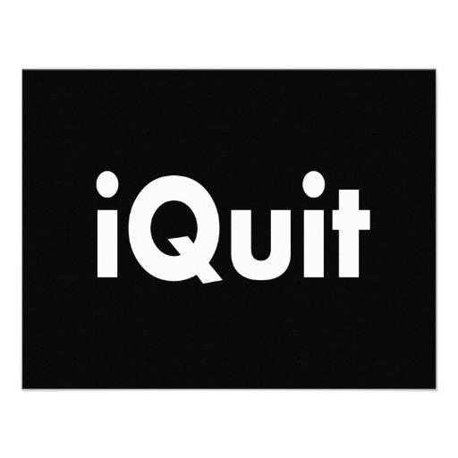 iQUIT  I Quit Announcements