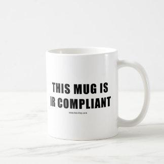 IR Compilant Basic White Mug