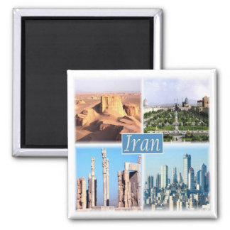 IR * Iran Square Magnet