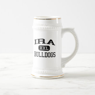 Ira - Bulldogs - Ira High School - Ira Texas Beer Stein
