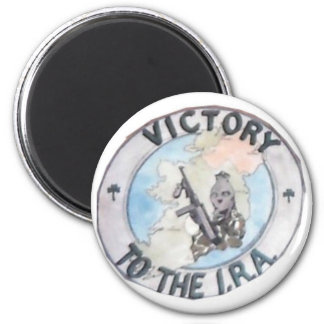 IRA logo 6 Cm Round Magnet