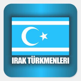 Irak Turkmenleri Square Sticker