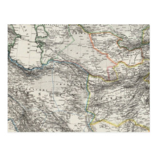 Iran Afghanistan Pakistan Postcard