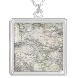 Iran Afghanistan Pakistan Silver Plated Necklace