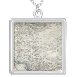 Iran and Iraq Silver Plated Necklace