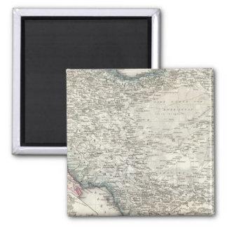Iran and Iraq Square Magnet