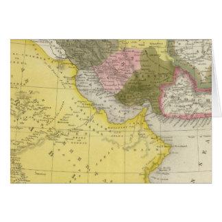 Iran and Saudi Arabia Card