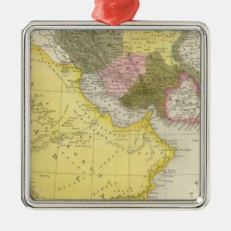 Iran and Saudi Arabia Christmas Ornament