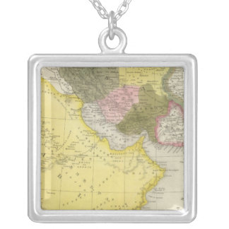 Iran and Saudi Arabia Silver Plated Necklace