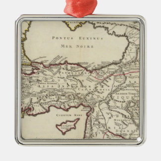 Iran and Turkey Christmas Ornament