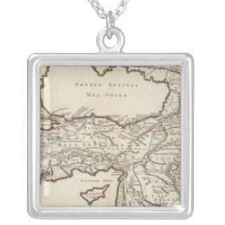 Iran and Turkey Silver Plated Necklace