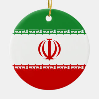 Iran Christmas Ornament