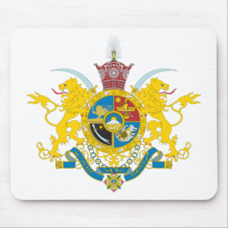 Iran Coat of Arms (Pahlavi Dynasty 1925-1979) Mouse Mat