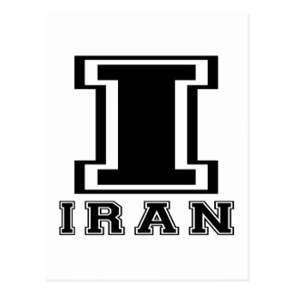 Iran Designs Postcard