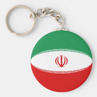 Iran Fisheye Flag Keychain