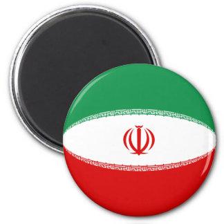 Iran Fisheye Flag Magnet