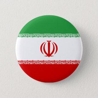 Iran Flag 6 Cm Round Badge