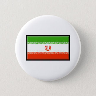 Iran Flag 6 Cm Round Badge
