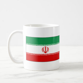 Iran Flag ~ Map Mug