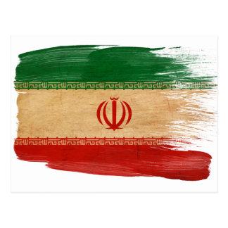 Iran Flag Postcards