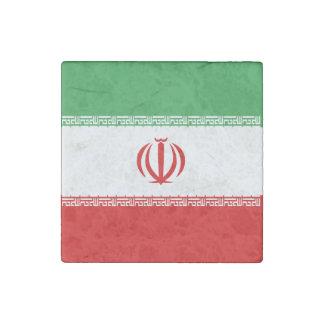 Iran Flag Stone Magnet