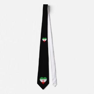 Iran flag tie