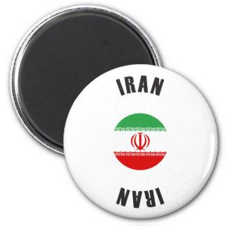 Iran Flag Wheel Magnet