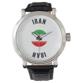Iran Flag Wheel Watch