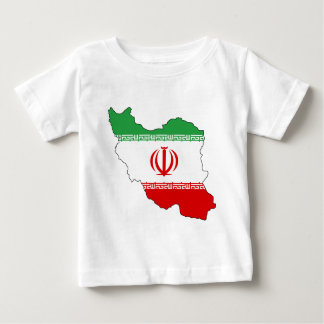 Iran IR , Flag, Coat of arms جمهوری اسلامی ایران Baby T-Shirt