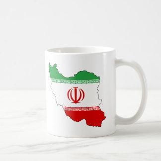 Iran IR , Flag, Coat of arms جمهوری اسلامی ایران Coffee Mug
