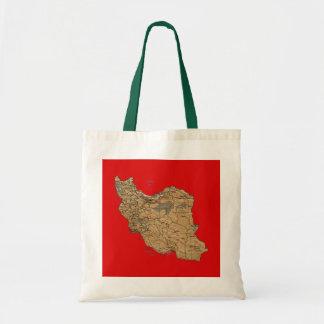 Iran Map Bag