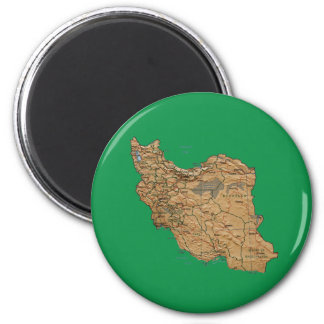 Iran Map Magnet
