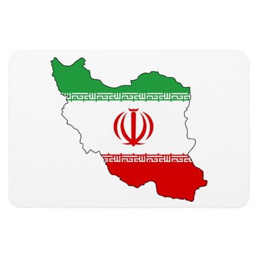 IRAN MAP MAGNETS