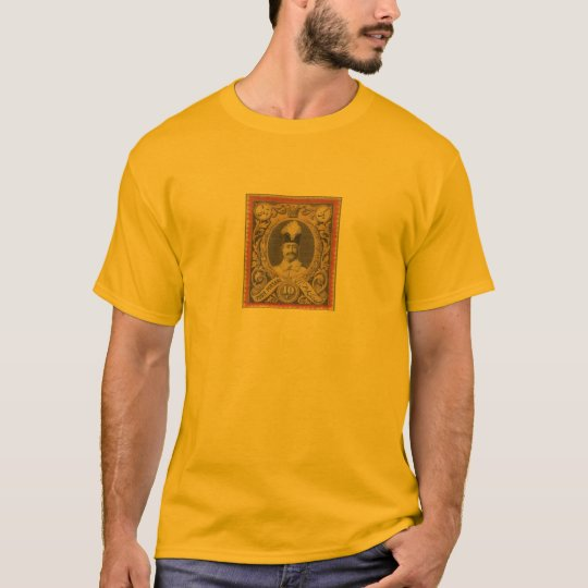 Iran old stamp qajar era T-Shirt