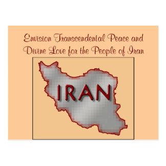 Iran Peace postcard