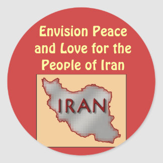 Iran Peace stickers