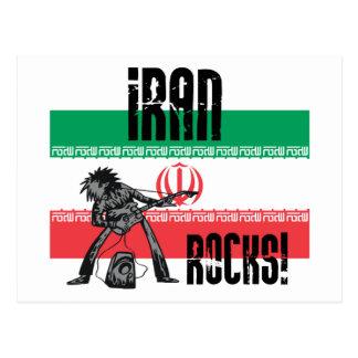 Iran Rocks Post Card
