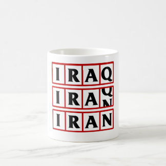 Iran to Iraq Coffee Mug