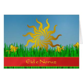 Iranian New Year Greeting Card