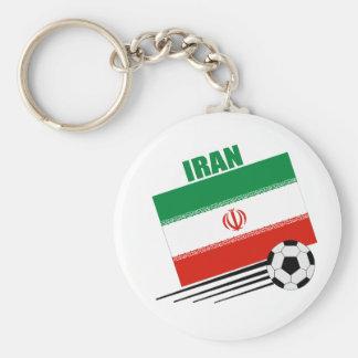 Iranian Soccer Team Key Ring