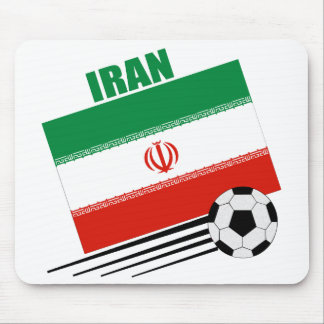 Iranian Soccer Team Mouse Pad