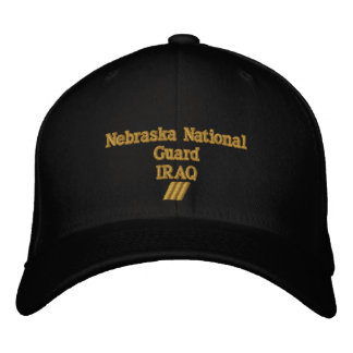 IRAQ 18 MONTH COMBAT TOUR EMBROIDERED HAT