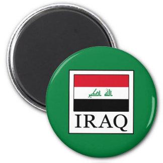 Iraq 6 Cm Round Magnet