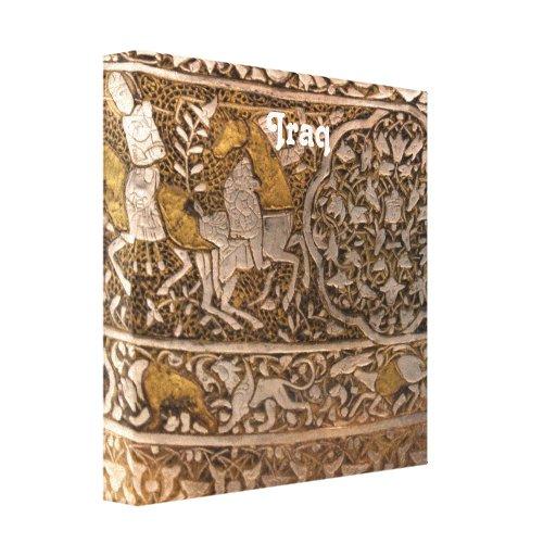Iraq Art Gallery Wrap Canvas