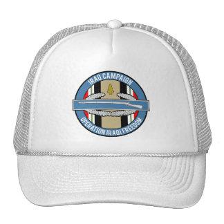 Iraq Campaign CIB Mesh Hat