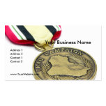 Iraq Campaign Medal Pack Of Standard Business Cards